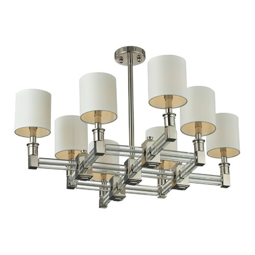 Nulco Lighting Berwick 8 Light Chandelier