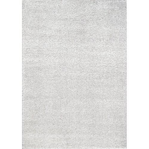 Boulevard Glitz Low Pile Light Grey / White Striped Rug