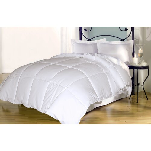 240 Thread Count Cotton Cover Goose Down and Feather Comforter