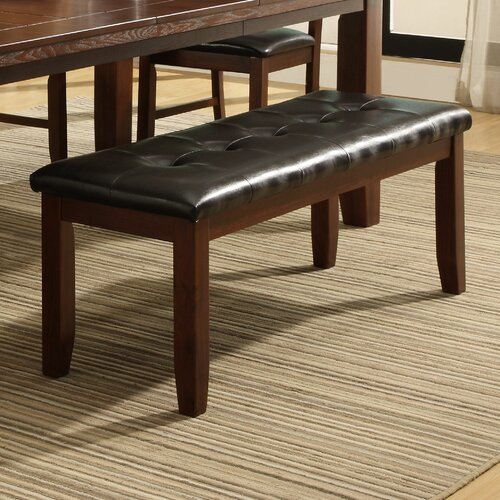 Hokku Designs Upholstered Kitchen Bench & Reviews