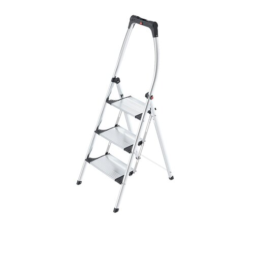 Hailo LLC 3-Step Living Step Comfort Step Ladder