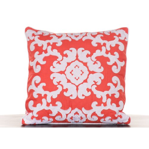 Southern Breeze Appliqued Decorative Pillow