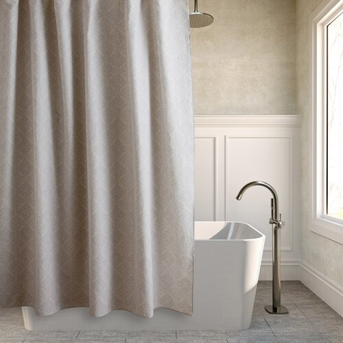 Batik Medallion Cotton Shower Curtain