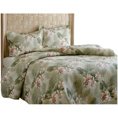 Tommy bahama bedding tropical orchid quilt set reviews Tommy bahama bedding