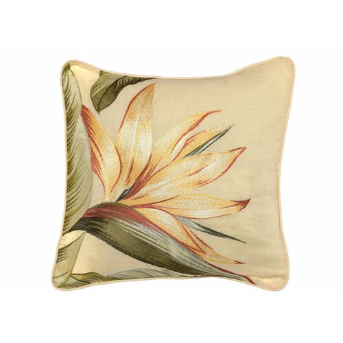 Tommy Bahama Bedding Birds of Paradise Embroidered Throw Pillow & Reviews Wayfair