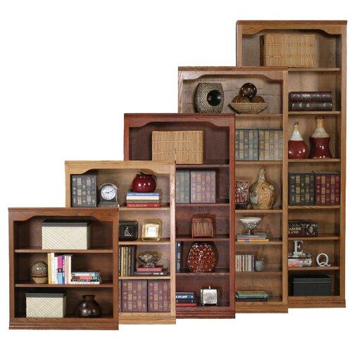 Classic Oak Open Bookcase