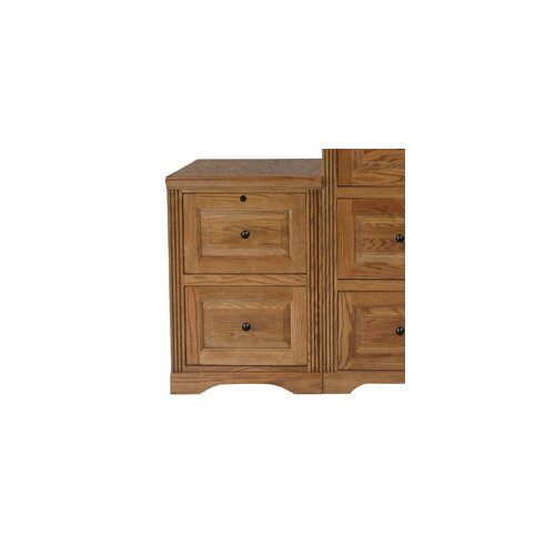 Oakwood Furniture Mfg ~ Oak wood file cabinet wayfair