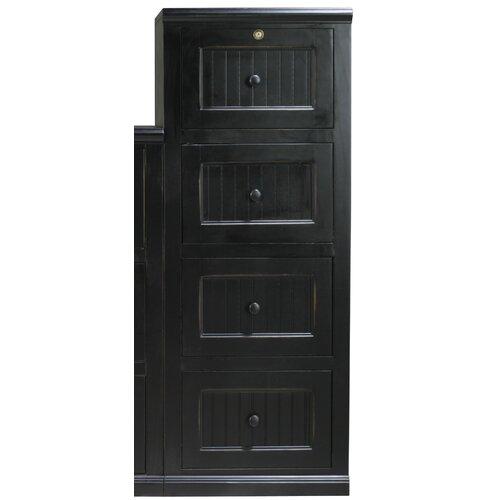 Eagle Furniture Manufacturing Coastal 4-Drawer File