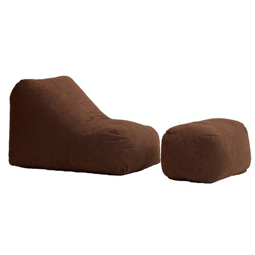 Comfort Research Fuf Wedge and Ottoman Bean Bag Lounger