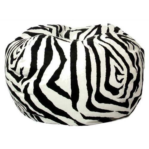 Zebra Bean Bag Chair