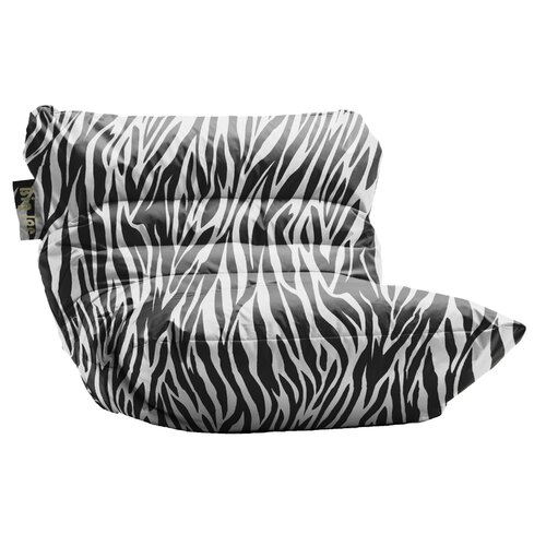 Comfort Research Big Joe Roma Zebra Bean Bag Chair