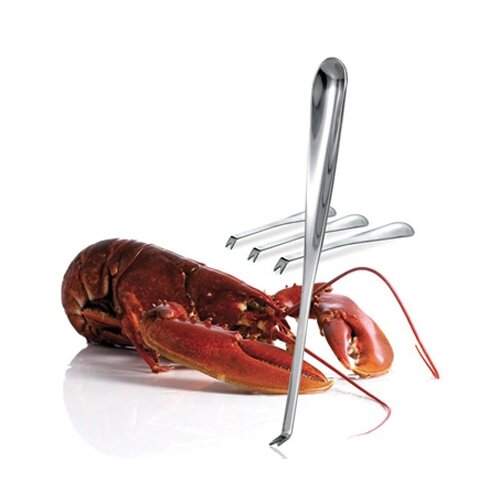 Kitchen 4 Piece Gourmet Seafood Forks