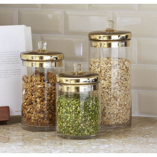 glass canisters jars kitchen storage canister lids cookie