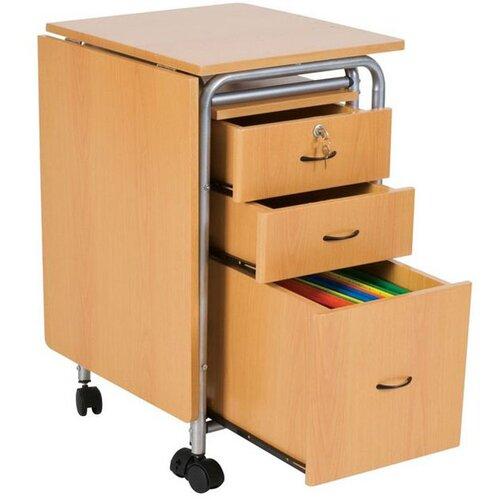Balt Fold-N-Stow Computer Workstation