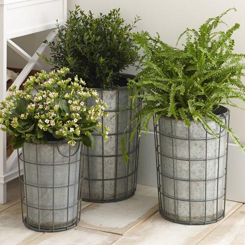 Birch Lane Hartman Metal Vases