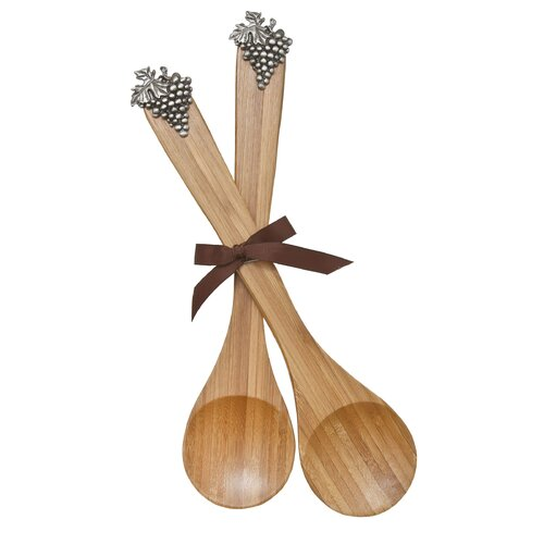 Western Star Bamboo Serving Spoon (Set of 2)