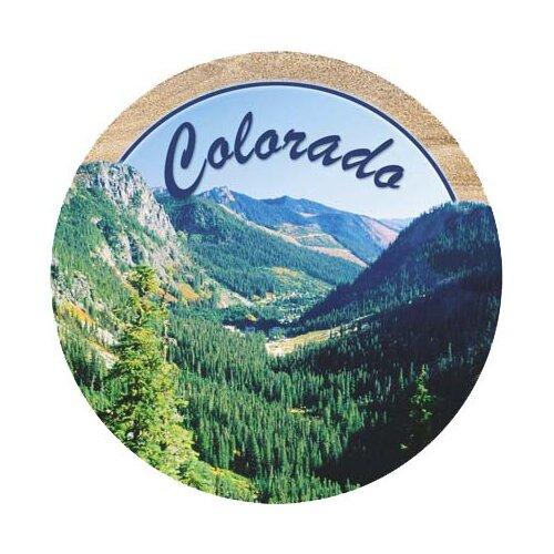 Mt. Evergreen Colorado Coaster (Set of 4)