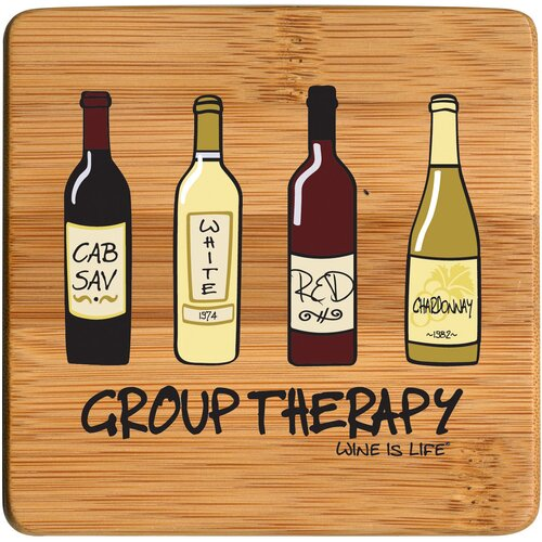 Group Therapy Bamboo Coaster (Set of 4)