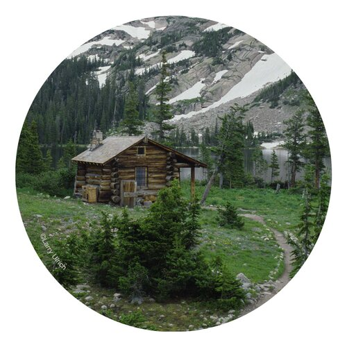 Mountain Cabin Occasions Coaster (Set of 4)