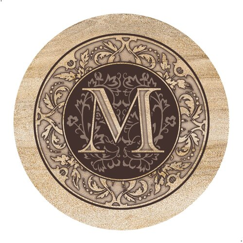 Thirstystone Monogram A Coaster