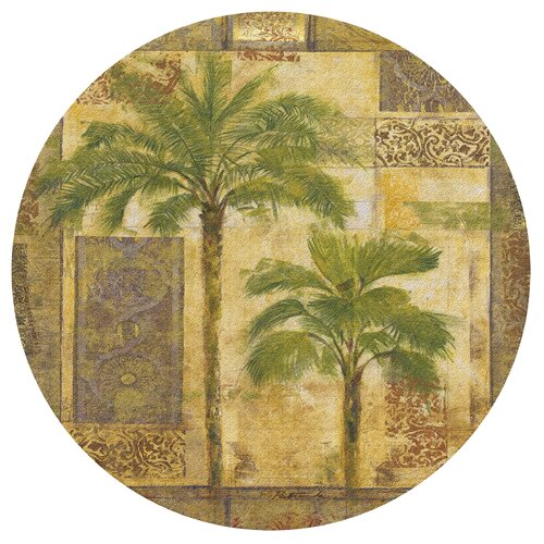 Thirstystone Palm Trees I Cork Trivet