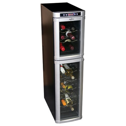 18 Bottle Dual Zone Thermoelectric Wine Refrigerator