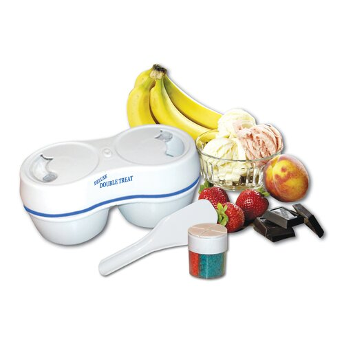 Koolatron Deluxe Double Treat Ice Cream Maker