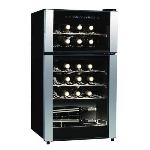 29 Bottle Dual Zone Thermoelectric Wine Refrigerator