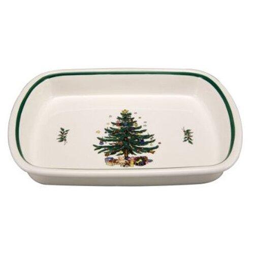Nikko Ceramics Christmas Lasagna Dish