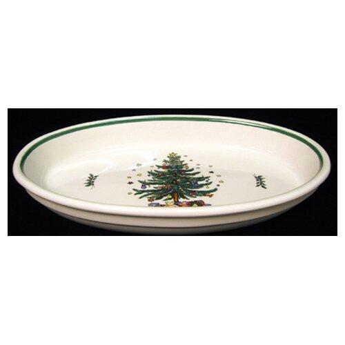 Christmas Oval Baker