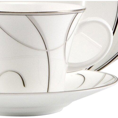 Nikko Ceramics Elegant Swirl Teacup