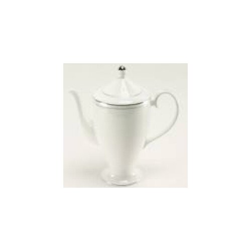 Nikko Ceramics Platinum Beaded Pearl Beverage Pot