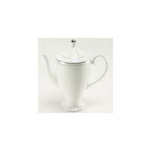 Nikko Ceramics Platinum Beaded Pearl Beverage Pot