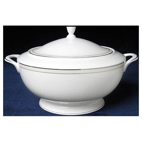 Nikko Ceramics Platinum Beaded Pearl Covered Vegetable Bowl