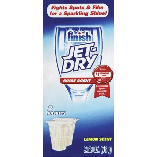 Finish 2.68 oz. Jet Dry Solid Lemon Scent Dishwasher Rinse Agent