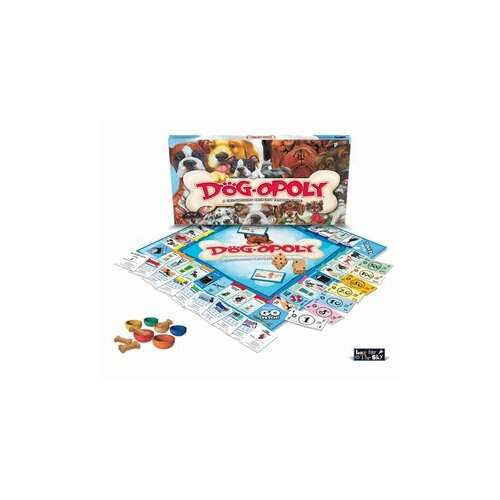 Late for the Sky Dog-opoly Board Game