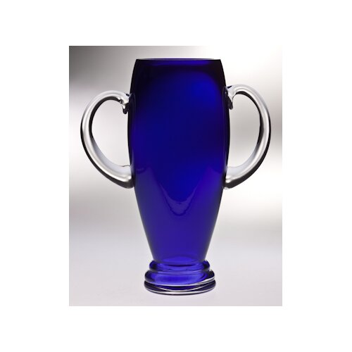 Classic Clear Trophy Vase
