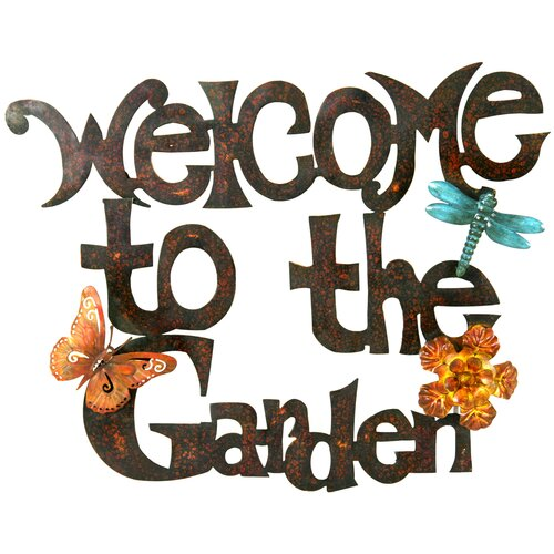 Bhups Welcome To The Garden Wall Art