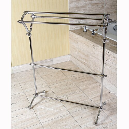 Kingston Brass Edenscape Free Standing Pedestal Towel Rack