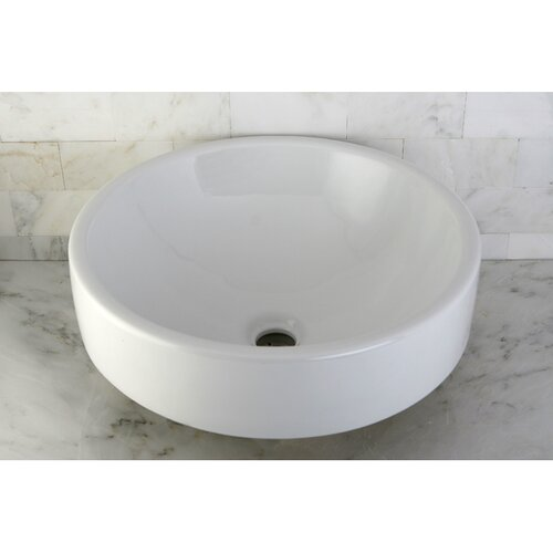 Zen Vitreous Vessel Bathroom Sink
