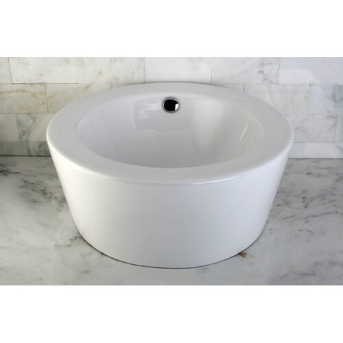 Dynasty China Vessel Bathroom Sink
