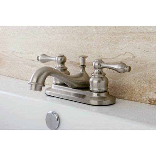 kingston brass restoration double handle centerset