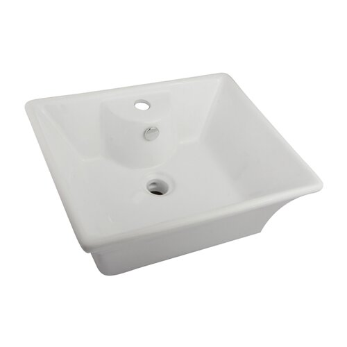 Forte Vessel Bathroom Sink