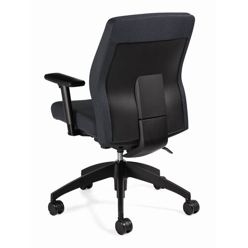 Global Total Office Mid-Back Multi Office Chair with T-Arms