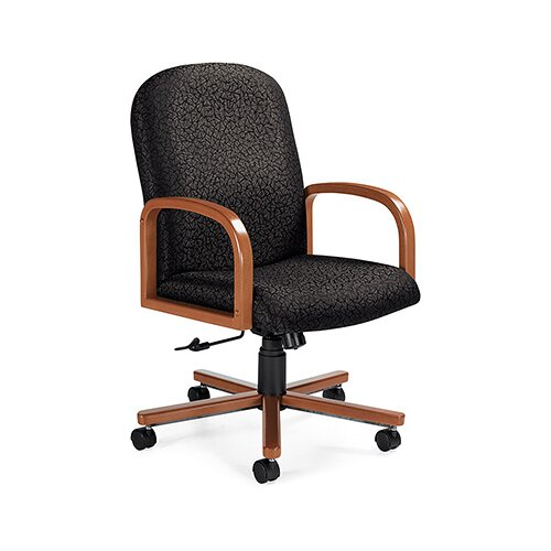 Global Total Office Selectra Mid-Back Pneumatic Office Chair