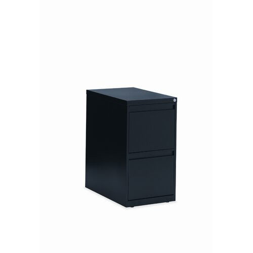 Global Total Office 2-Drawer File Pedestal