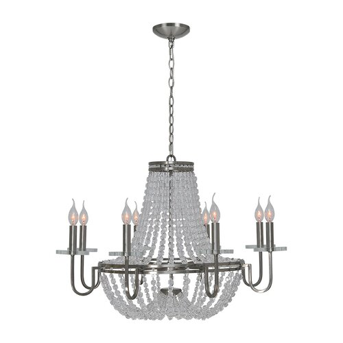 Cesano 8 Light Crystal Chandelier
