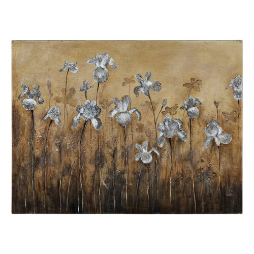 Fiore Bianco by Catherine Brink Painting Print on Canvas