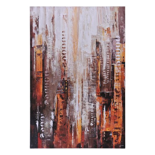 Midtown by Giovanni Russo Painting Print on Canvas