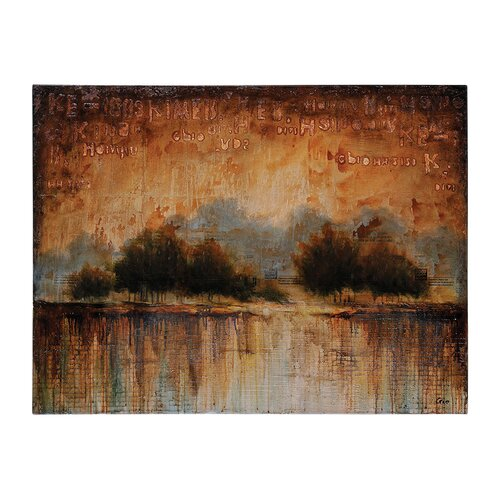 Scent of Rain by Giovanni Russo Painting Print on Canvas
